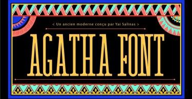 Agatha [1 Font]
