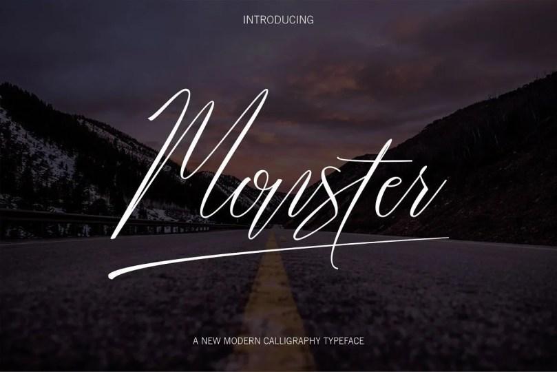 Monster [1 Font]
