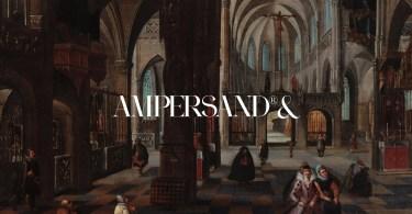 Ampersand [1 Font]