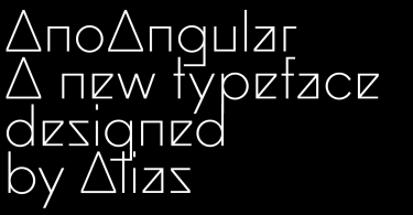 Ano Angular Super Family [3 Fonts]