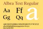 Albra Text [6 Fonts]