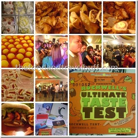 ultimate taste test