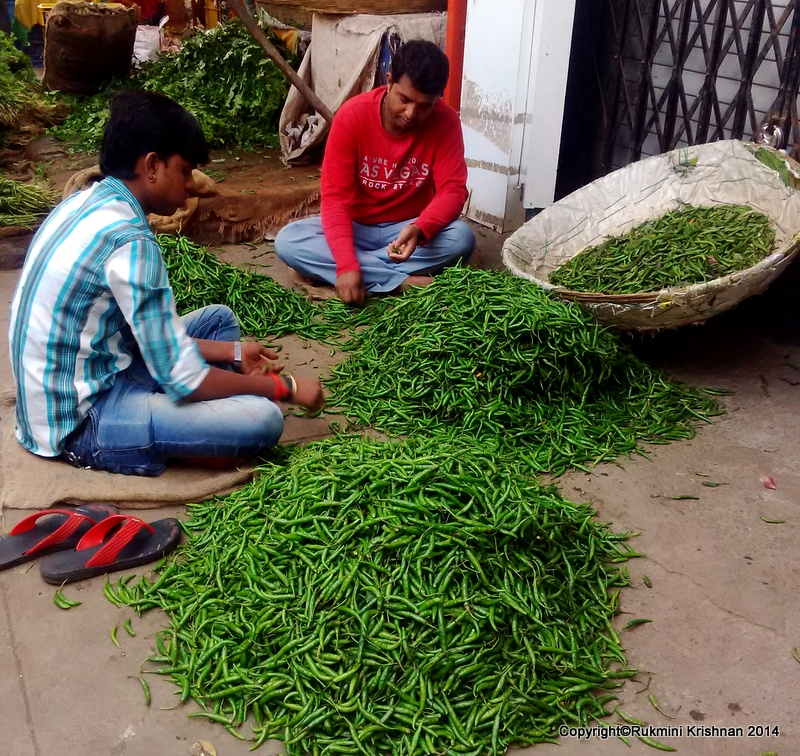 Do You Know How Veggies are Bought in India?