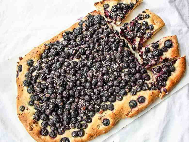 Mustikkapiirakka - Finnish Blueberry Pie
