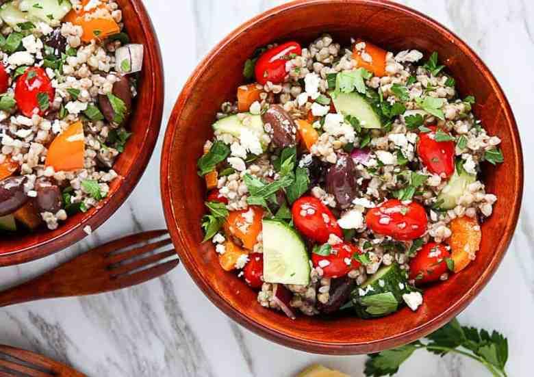 Mediterranean Buckwheat Salad