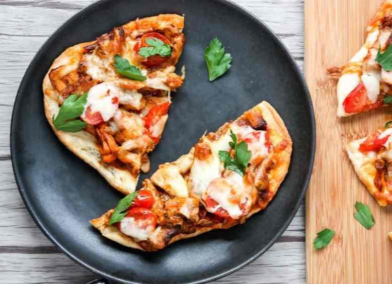 Chicken Tikka Masala Pizza Naan Pizza The Food Blog