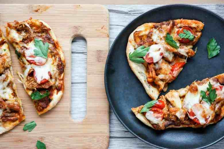 Chicken Tikka Masala Pizza- Naan Pizza | The Food Blog