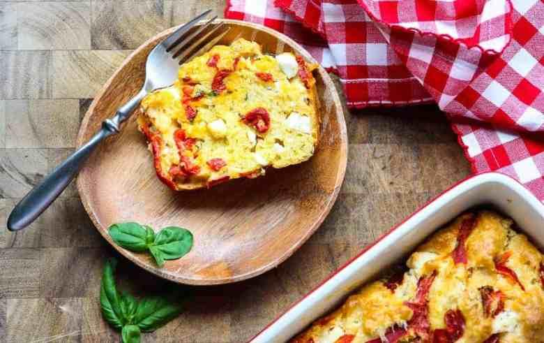 Feta & Sun Dried Tomato Bread