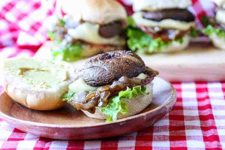 Portabella Mushroom Sliders