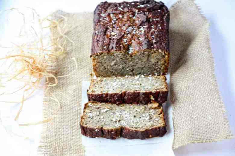 Coconut Banana Bread-
