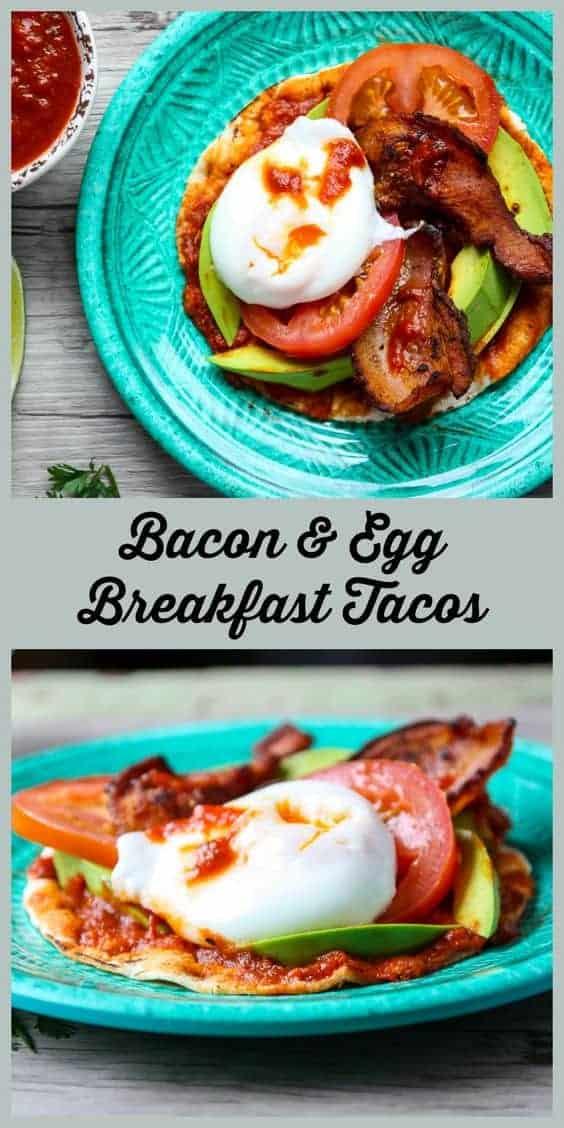 Bacon Egg Breakfast Tacos