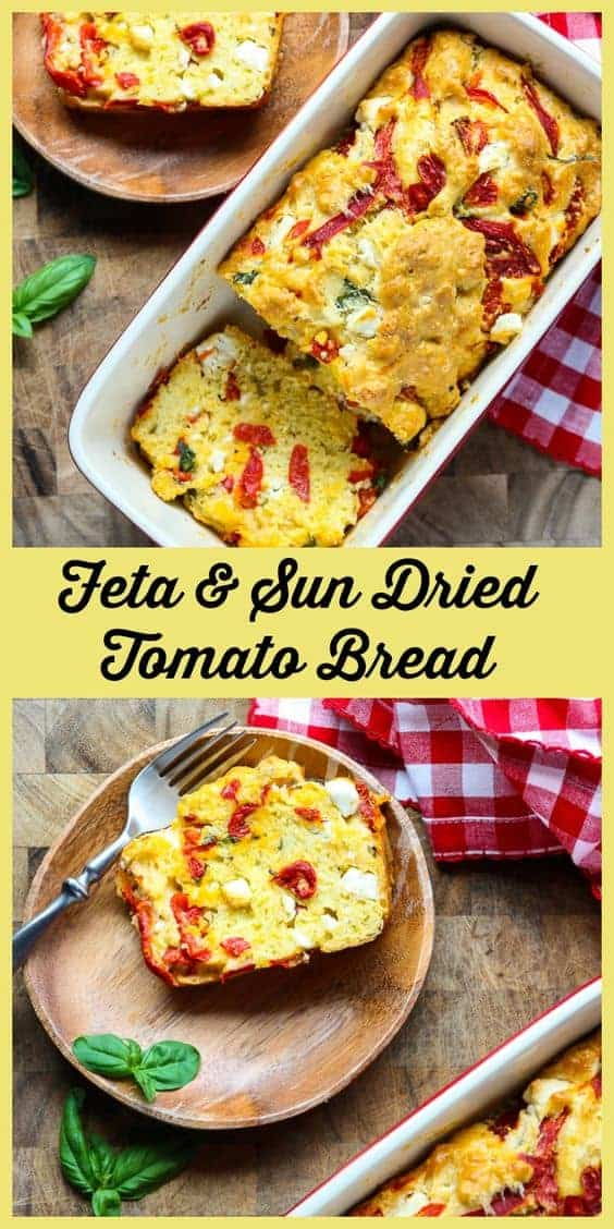 Sun Dried Tomato Feta Bread