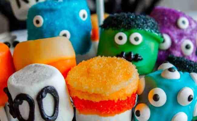 Halloween Marshmallow Pops The Food Charlatan