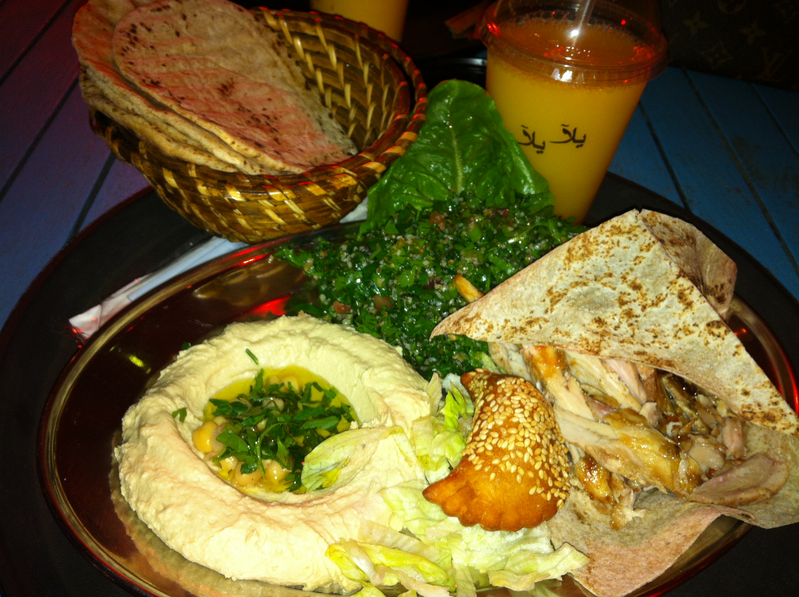 yalla yalla beirut street food