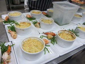 Lobster Thermidore Mac and Cheese
