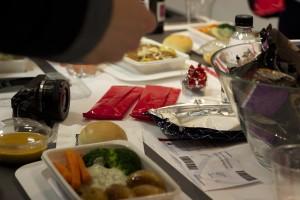 Qantas food