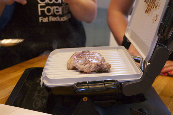 Latest George Foreman Evolve Fat Reducing Grill The Food