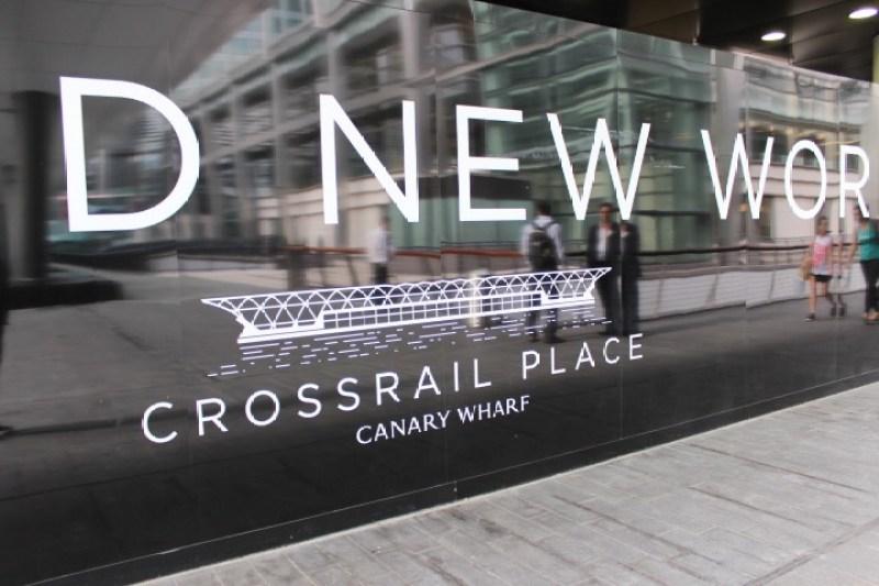 Canary Wharf Crossrail