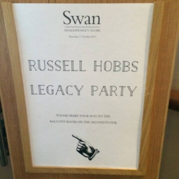 russell hobbs legacy party
