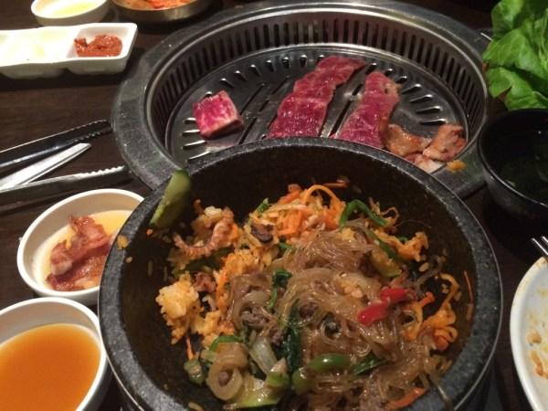 Jin Go Gae food