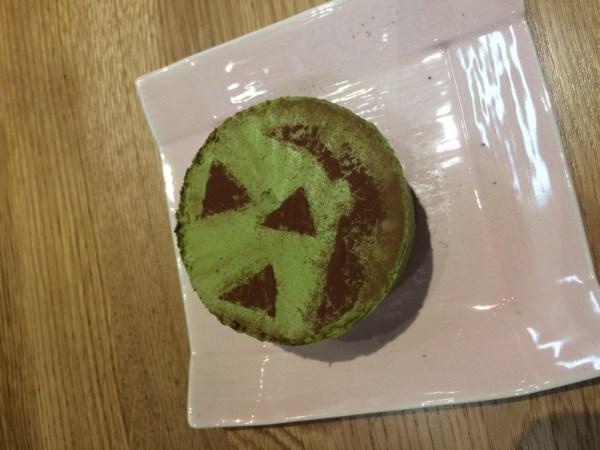 monster green tea matcha cheesecake