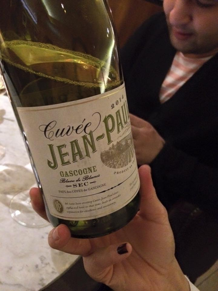 Cuveé Jean-Paul Gascogne Blanc de Blancs