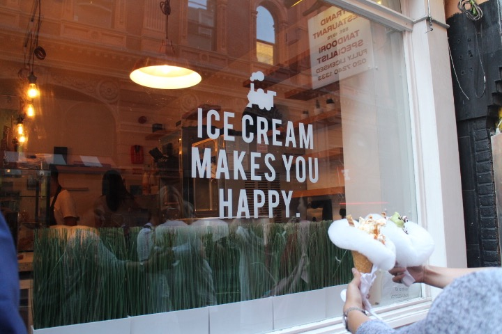 milk train ice cream makes you happy