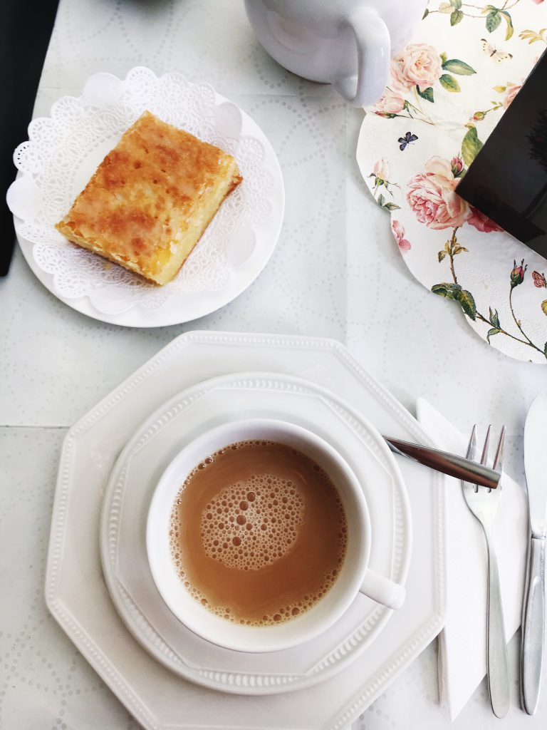 Afternoon tea the orangery