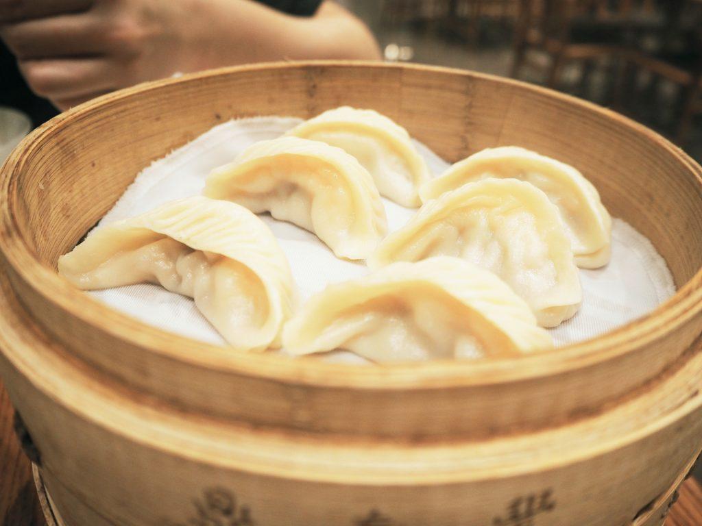 Din Tai Fung steamed dumplings