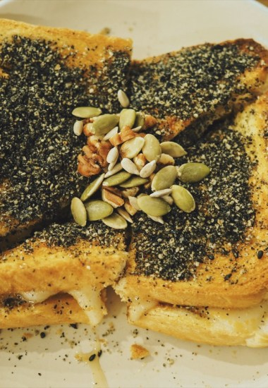 Gaza Cafe – Chewy rice cake toast and best matcha lattes
