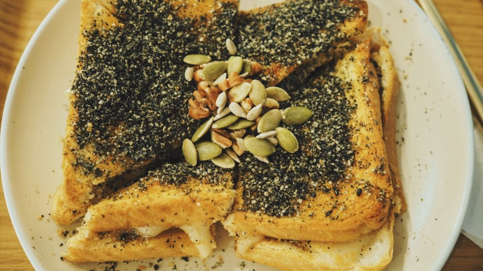 Gaza-Cafe-Soho-sesame-rice-cake-toast