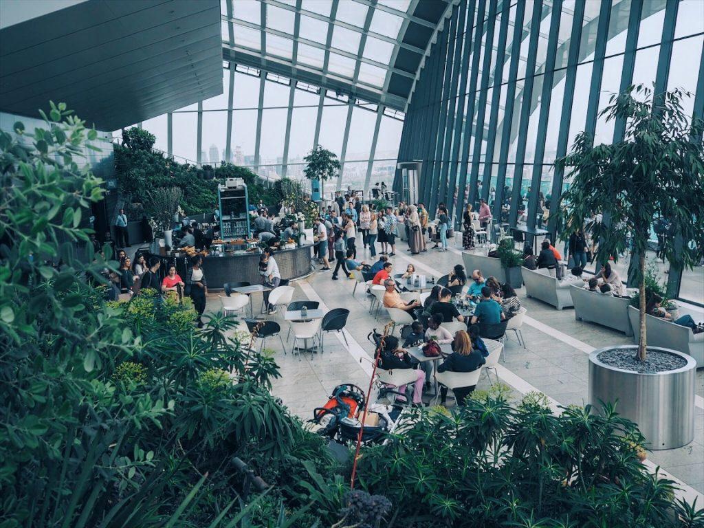 Sky Gardens 17 mm lens