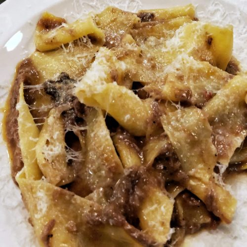 padella pappardelle 8 hours beef shin ragu