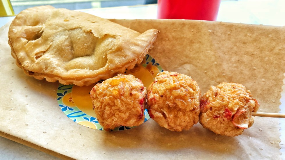 Old Chang Kee lobster balls
