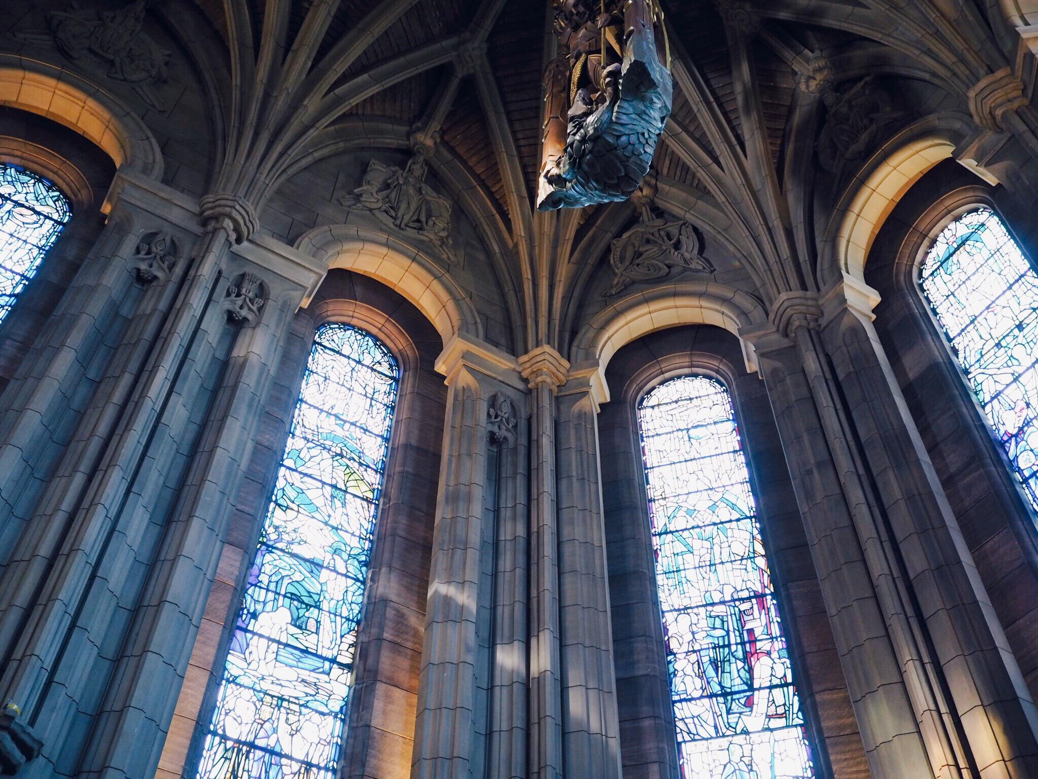 edinburgh castle inside