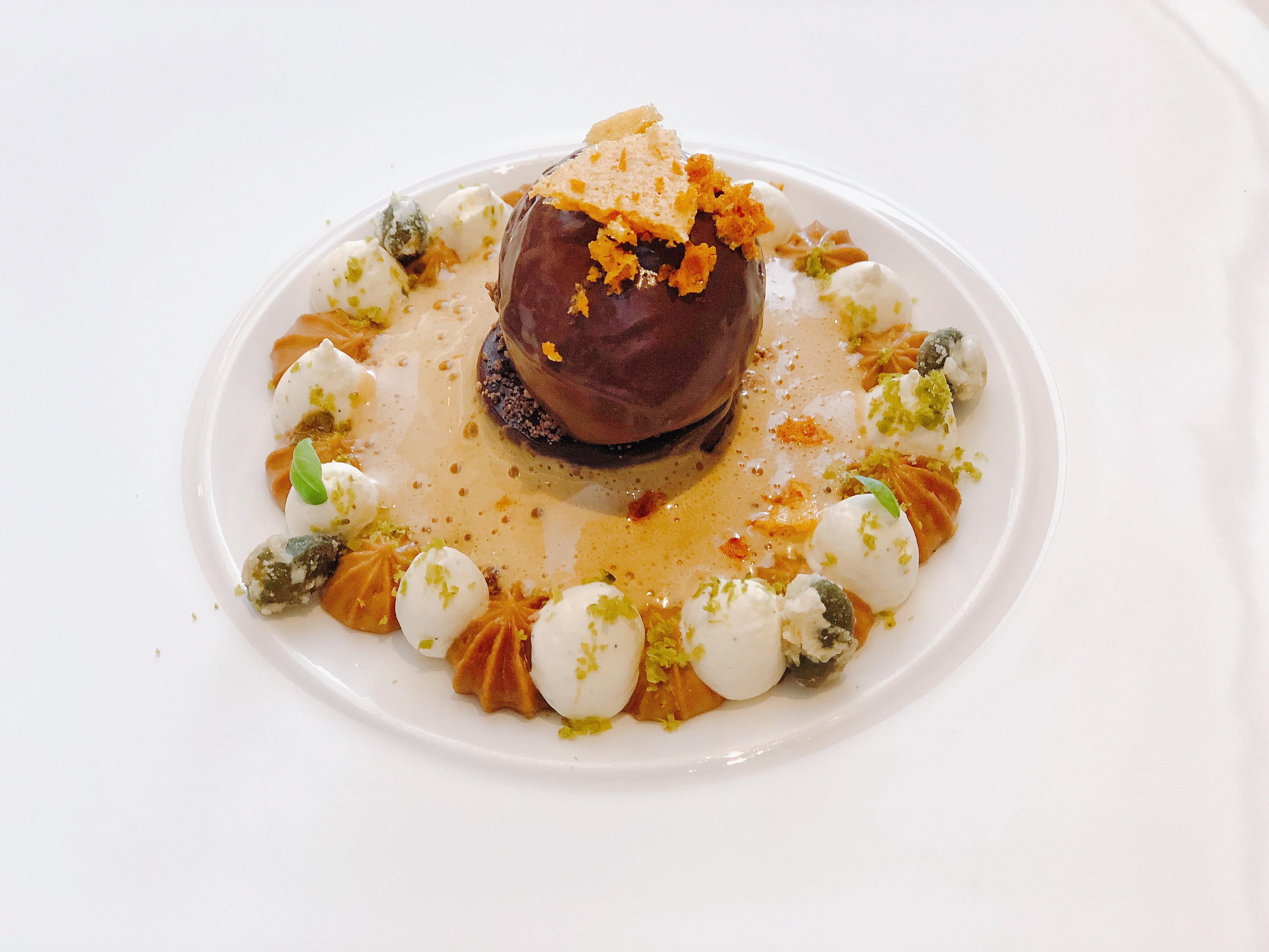 chocolate praline mouse castle terrace