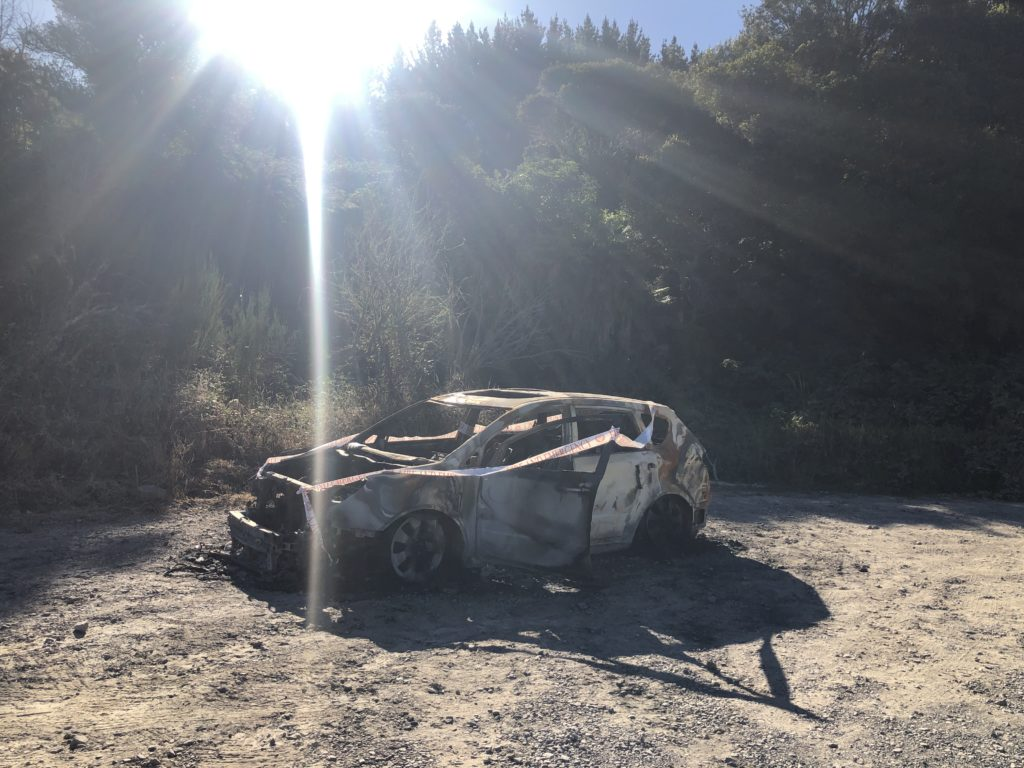 Kerosene Creek abandon car