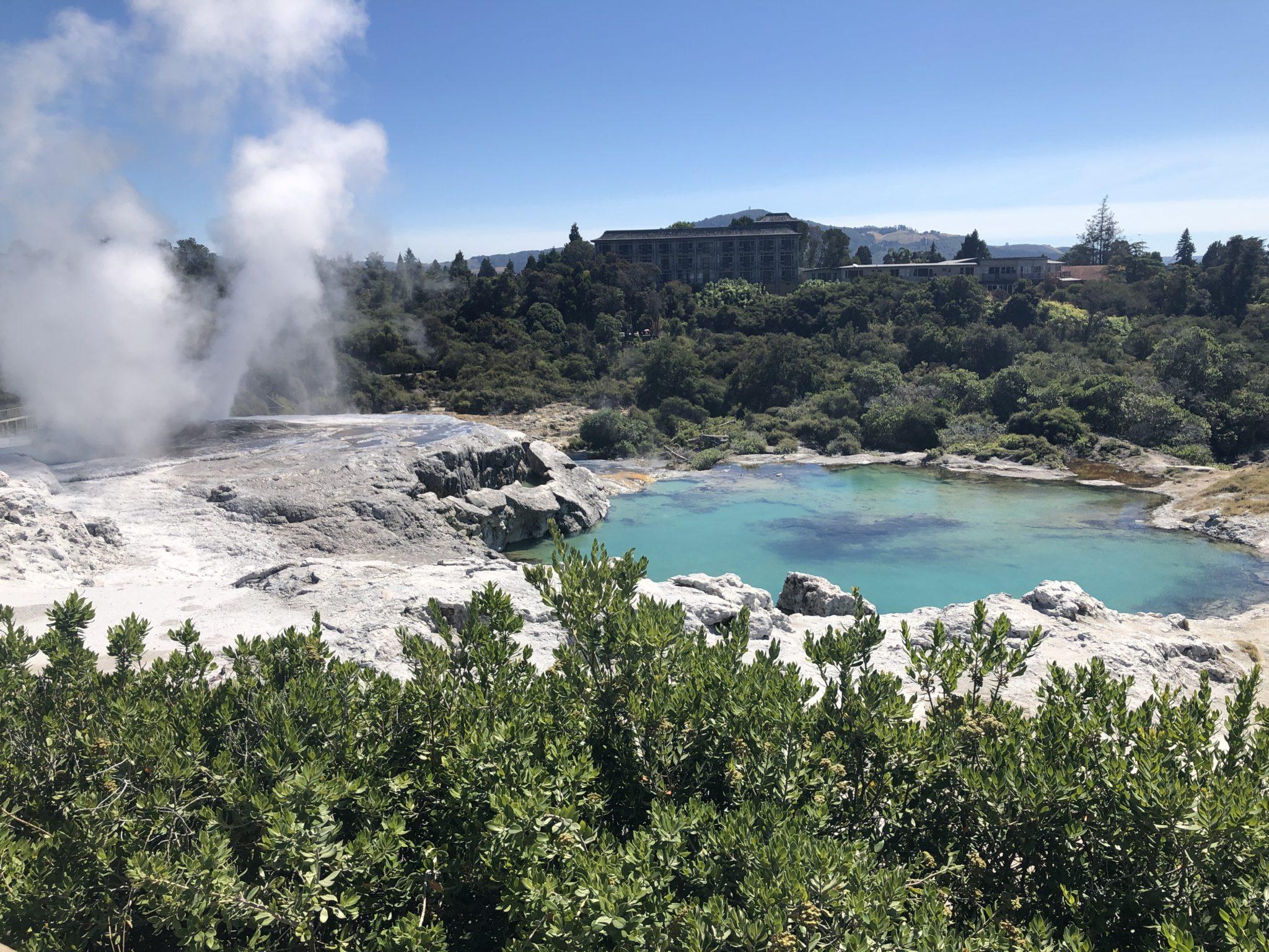 Day 4 Rotorua | Māori village | Kerosene Creek