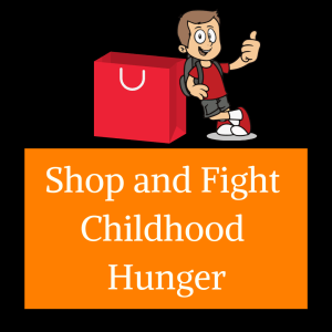 shop to fight childhood hunger