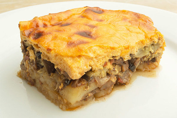 Vegetarian Moussaka