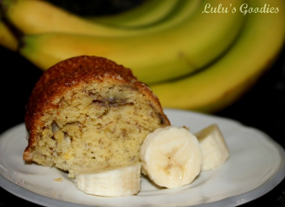 banana pound cake recipe picture (lulu's goodies)