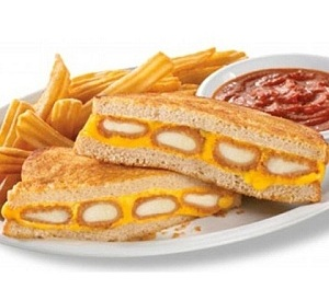7) Denny's Fried Cheese Melt photo