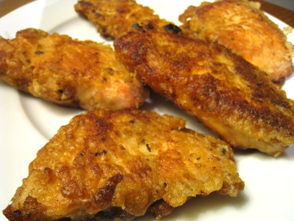 BEER BATTERED SALMON recipe picture