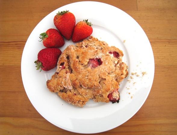 STRAWBERRY SCONES recipe