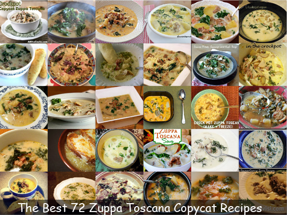 The Best 72 Zuppa Toscana Copycat Recipes - Vote For Your Favorite!