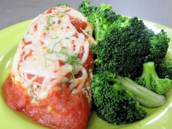 Grilled Chicken Parmesan recipe