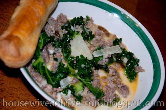 Olive Garden Zuppa Toscana Copy Cat Recipe by The REAL Housewives of Riverton