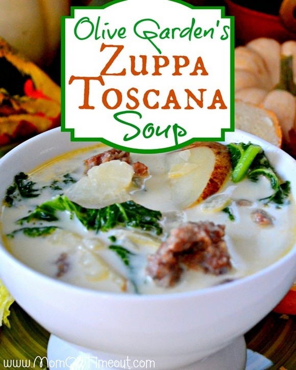Olive Garden Zuppa Toscana Soup recipe by Mom On Timeout