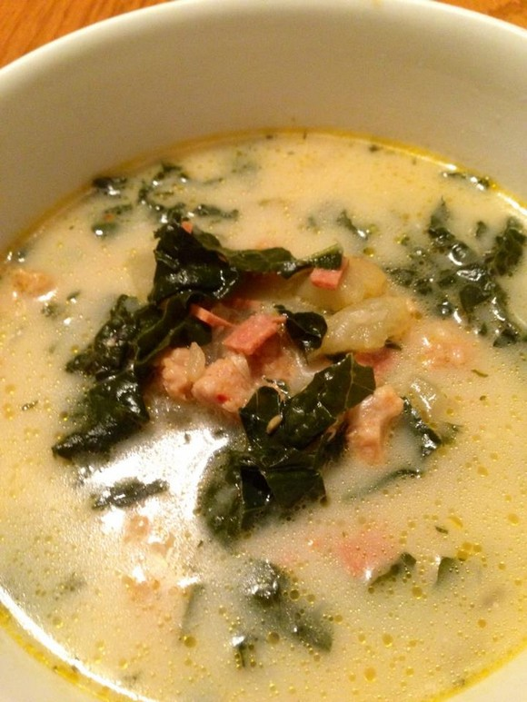 Vegan Zuppa Toscana (Olive Garden Inspired) recipe by The Comforting Vegan