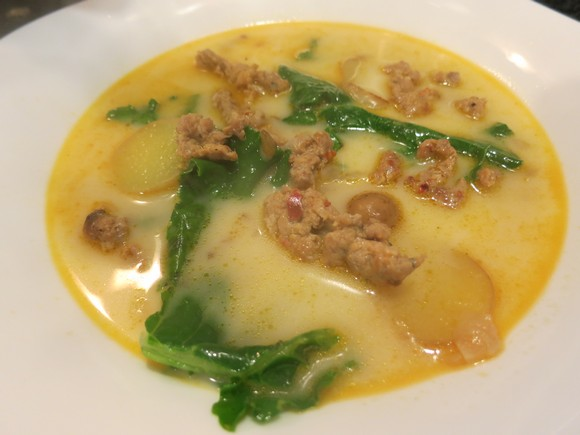 Zuppa Toscana recipe by Sweet Rehab